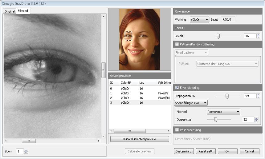 Ximagic GrayDither for Windows (x64 bit) screenshot